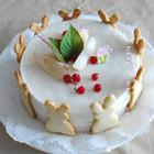 蜜桃慕斯蛋糕