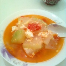 冬瓜番茄汤的做法
