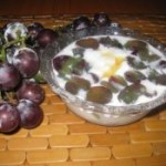 大果粒葡萄酸奶