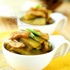 醋香黄瓜炒肉
