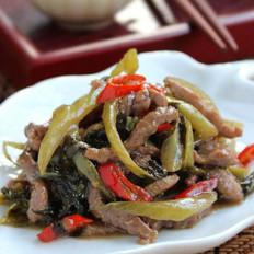 酸菜嫩滑牛肉的做法