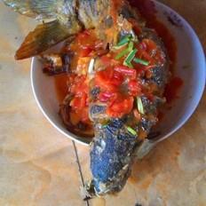 茄汁鲤鱼的做法