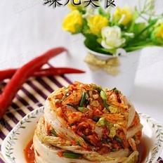 韩式梨泡菜的做法