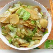 卷心菜炒土豆的做法