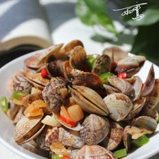 辣白菜炒花蛤
