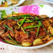 大蒜豆瓣酱辣味鲳鱼的做法