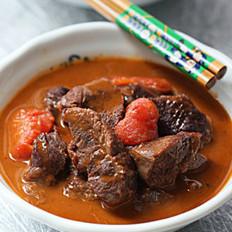 番茄炖牛腱的做法