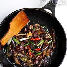 腊鸭脯炒茄子的做法
