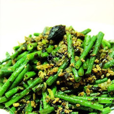橄欖肉末豇豆角的做法