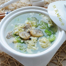絲瓜蛤蜊湯的做法