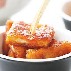 茄汁脆皮豆腐的做法