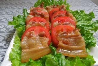 微波烤花肉的做法