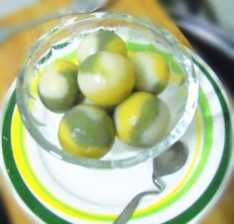 三色饺子的做法