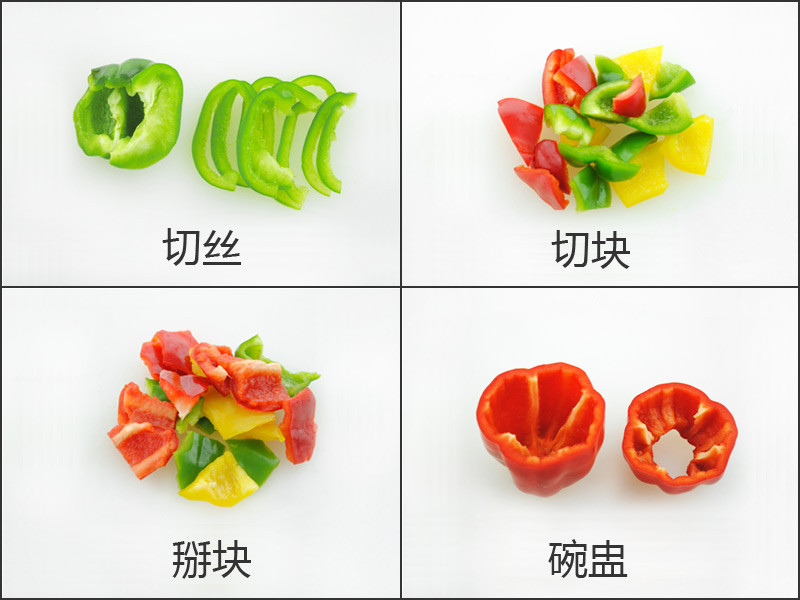 土豆花式切法圖解