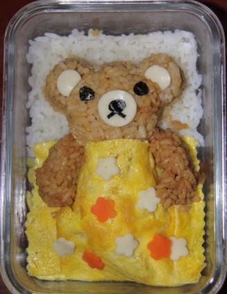 轻松熊咖喱饭的做法