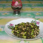 雪菜毛豆炒肉丝的做法