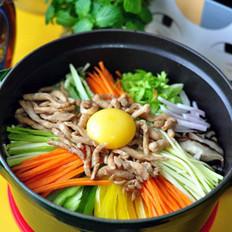 铸铁锅版石锅拌饭的做法