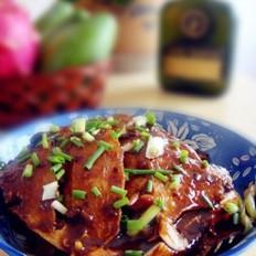 红烧豆豉鲳鱼的做法