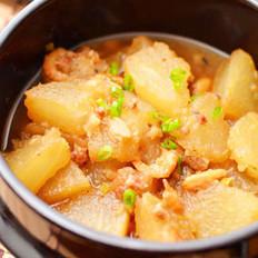 肉末金钩冬瓜煲的做法