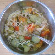 青菜番茄青瓜面的做法