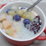 椰汁西米芋頭丸的做法