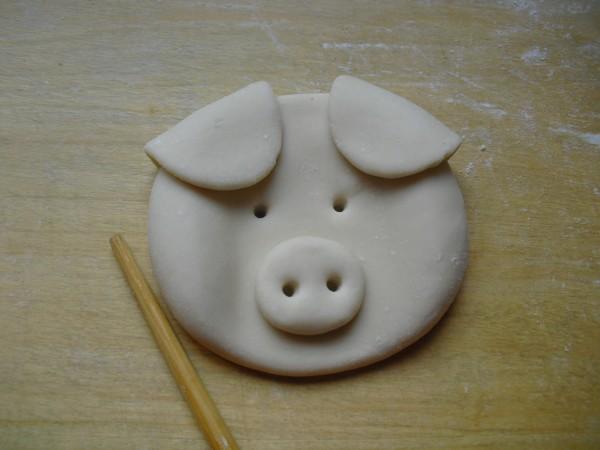 小猪头馒头的做法