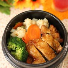 日式煎鸡饭的做法