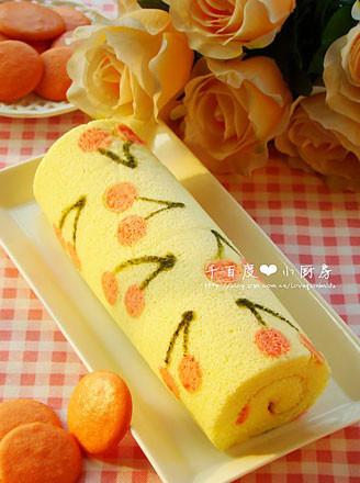 樱桃彩绘蛋糕卷全部作品