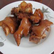 香焖猪蹄的做法