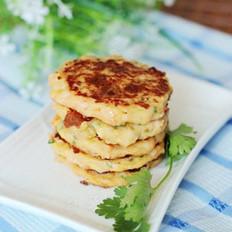 土豆芝士虾饼的做法