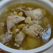 蒜头清炖鸡的做法