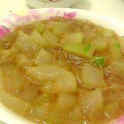 冬瓜粉条汤的做法