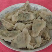 猪肉倭瓜韭菜馅水饺的做法