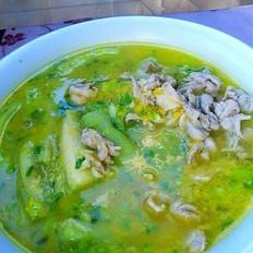 金汤汆肉片的做法