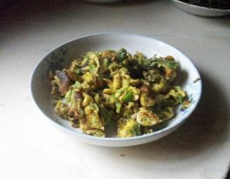 辣椒煎蛋的做法
