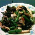 鸭肉烧四季豆的做法
