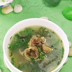 土生香草鸡杂汤的做法