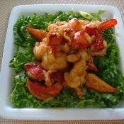 芥末龍蝦肉的做法