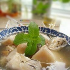 草菇青鱼汤的做法
