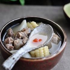 猪骨山药汤的做法