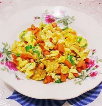 香葶炒鸡蛋的做法
