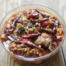 豆豉辣鸡锅的做法