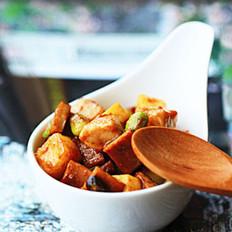 豆瓣醬丁的做法