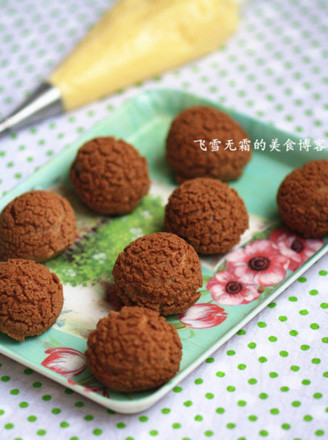 巧克力泡芙的做法_家常巧克力泡芙的做法【圖 ...