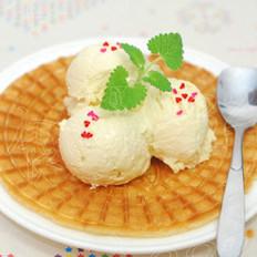 脆皮榴莲冰淇淋的做法