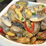 保持原有文蛤鲜味的爆炒技巧