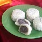 奶油蓝莓冰皮月饼的做法