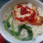 鸡蛋煮面条的做法