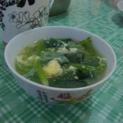 菠菜粉丝鸡蛋汤的做法