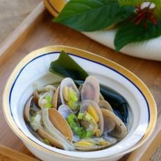 蛤蜊湯的做法